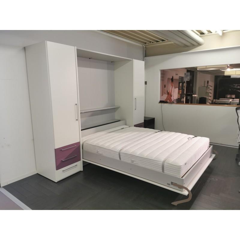 Combinaison lit-armoire